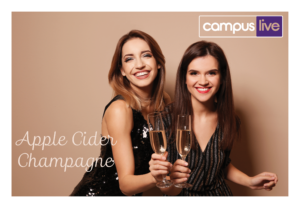 Apple cider champagne and girls